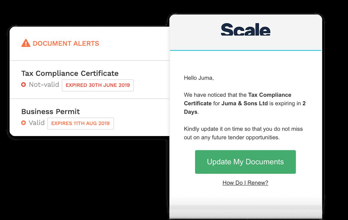 Document Renewal Alerts