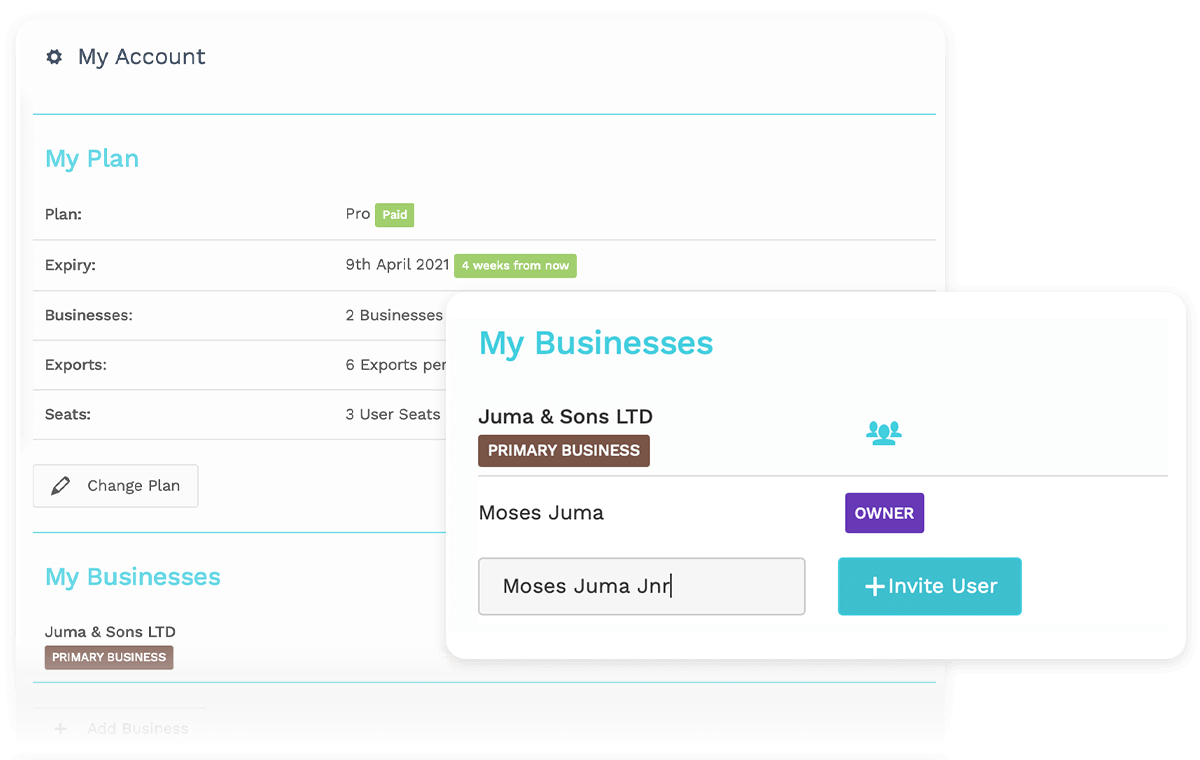 Add Users To Specific Businesses